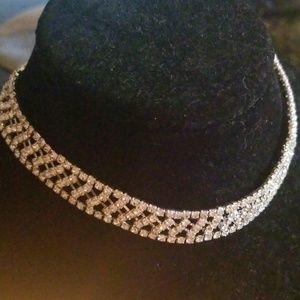 Sexy rhinestone sexy necklace/choker